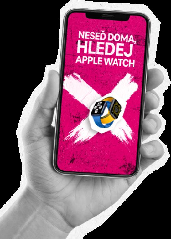Neseď doma a vyhraj Apple Watch